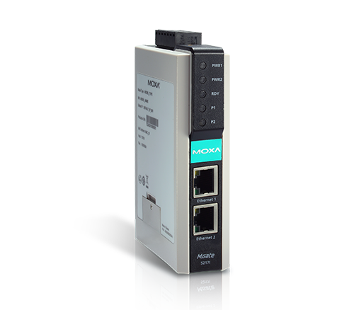 MGate 5217 Series Modbus-to-BACnet Gateways
